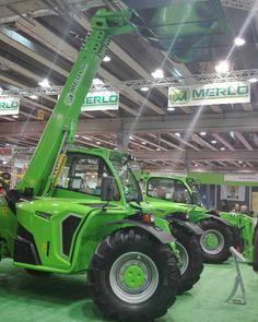 A #fieragricola ecco le novità di #merlo . #tractor #trattori #macchineagricole #veronafiere #macgest