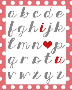 Valentine's Love Printable