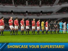 Dream League Soccer 2019 Screenshot Soccer Gifs, Play Soccer, Superstar, Football Video Games, Android Mobile Games, Android Features, Play Hacks, Association Football, Star Wars