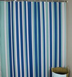 shower curtains extra long shower curtain 72 x 96 inch for bathroom accessories blue white
