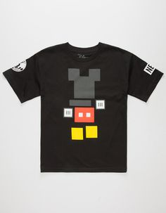 NEFF Disney Collection Mickey Blocks Boys T-Shirt- I need this in a men's size for Charles!