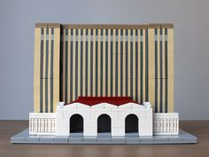 Michigan Central Station Architektur mit LEGO | Architecture with LEGO bricks