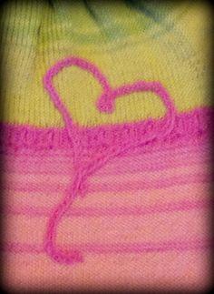Pink heart Yarn Projects, Heart, Crochet, Pink, Crochet Crop Top, Hot Pink, Chrochet, Pink Hair, Knitting