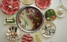 Hot Pot -favorite in every Asian community -best soupy meal for cold nites...yum.....taste the real goodness of all the ingredients without salt or seasoning...