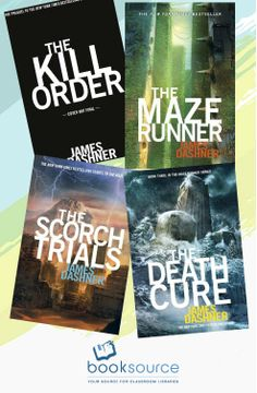 The Maze Runner collection by James Dashner #books #movies #yalit
