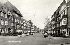 Groningen<br />De stad Groningen: Parkweg 1958