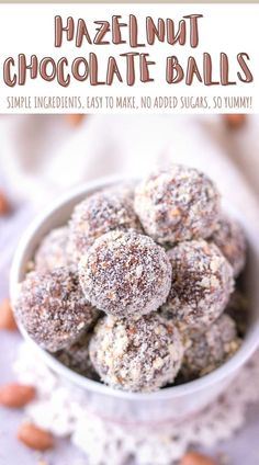 These Hazelnut Chocolate Balls are delicious little treats. Made with simple but wholesome ingredinets, without added sugars, these energy balls are fantastic. Healthy and energizing. Perfect summer sweet treat. ----- #energyballs #chocolate #darkchocolate #snack #healthysnack #kidssnack #campingsnack #vegan #vegansnack #dessert #healthydessert