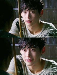 Lee jong suk ❤❤ I Can hear your voice drama Lee Jong Suk Cute, Lee Jung Suk, Cha Eun Woo, Asian Actors, Korean Actors, Voice Kdrama, Doctor Stranger, W Two Worlds, Bok Joo