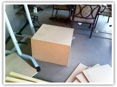 """Instructions for building a plyo box: 16"""" x 20"""" x 24"""""""
