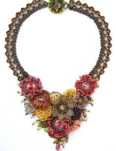 My Secret Garden necklace by Cielo Design, via Flickr