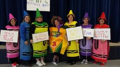 Book Character Day  The Day the Crayons Quit South Hancock Elementary School