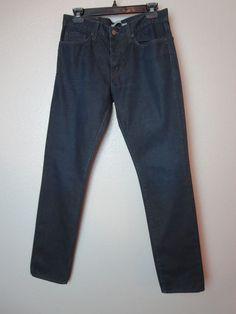EUC $195 VINCE 30 Slim Straight Leg Jeans in Dark Clean Wash (1865) #VINCE #ClassicStraightLeg