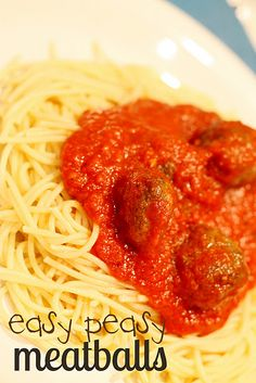would be great to make up ahead of time for a quick spaghetti dinner