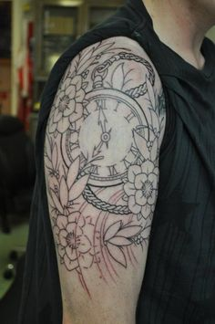 pocket watch tattoo - Pesquisa Google