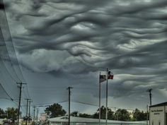 Clouds like ocean waves - Undulatus Asperatus | ScienceDump