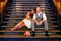 Santa Ana Courthouse Wedding. #Courthouse #Weddings can be beautiful!!