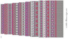 Joulukalenterisukka 2015 Ja ohje myös nelivärisiin, kokoa 37 :) Koko: 37 Lanka: Novita 7 veljestä Puikot: 3½ Langankulutus: 167g Suunnittelija: Ni...
