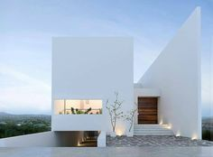 "6,736 Likes, 38 Comments - Contemporary Home (@contemporaryhome) on Instagram: ""Tag your friends 👥 🏠 Minimal #House en la Piedra 🏠 ✏ Abraham Cota Paredes #Architect ✏ 📍…"""