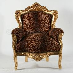 Leopard Chair...fabulous In Any Room.
