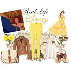 """""""Belle inspired Outfit"""" by maggie-litwiller on Polyvore"""