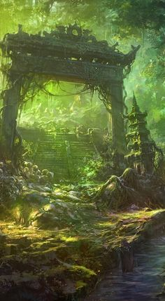 Anime HD Widescreen Wallpapers   Anime Fantasy Forest Landscape wallpaper http://www.freecomputerdesktopwallpaper.com/Anime_Fantasy_Forest_Landscape_Wallpapers_freecomputerdesktopwallpaper.shtml