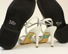 Hey, I found this really awesome Etsy listing at http://www.etsy.com/listing/103318552/salepackage-of-i-do-and-me-too-shoe