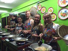 Cooking class, Bangkok