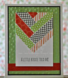 Sweetest Designs: A Little Birdie Told Me
