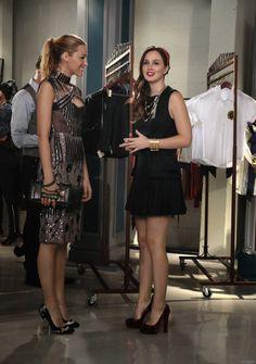 Gossip Girl Season 6. Serena van der Woodsen, Blair Waldorf.