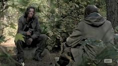 The stranger seems to indicate that he and his band run through camps taking everything they can from everyone they meet... Please read more and let's hear your thoughts at: http://allaboutthetea.com/2015/03/30/thewalkingdead-season-5-finale-recap-conquer-episode-16/