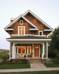 This is how I picture my house is going to be! :D except that is a two story home, I only want one floor