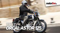 Essai 125 Astor Orcal - Premier essai de l'Astor, une moto 125 Vintage dans l'esprit des Royal Enfield pour tous ceux qui n'ont que le permis auto. Chic et b...