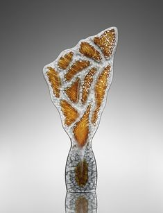 Artist: Michael Behrens  Title: Seaforms 2016-208 Process: Cast glass Size: 72 x 34 x 8 Inches Year: 2016 Please contact the gallery for pricing  Habatat Galleries 248.554.0590 – info@habatat.com