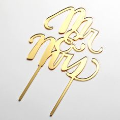 【My Mind's Eye】Fancy Cake Topper-Mr