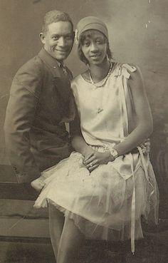"1928 newlyweds   Via Black History Album…""The Way We Were"" on Pinterest | Tumblr | Twitter | Facebook."