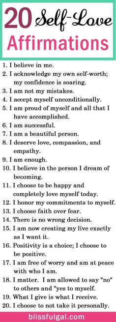 Self-love and affirmations quotes can be the perfect remedy to create a happier life. These affirmations for happiness are just what you need for self-improvement. Self-love quotes / Self-love tips health_tips, motivation, Affirmations For Happiness, Affirmations Positives, Self Love Affirmations, Happiness Quotes, Tips For Happiness, Miracle Morning Affirmations, Positive Affirmations For Kids, The Words, Motivacional Quotes