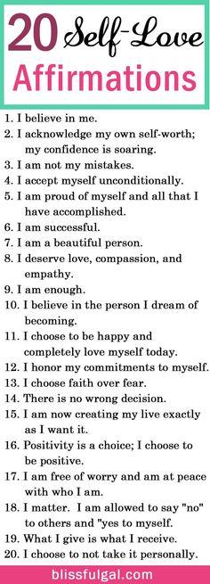 ❤love yourself~❤