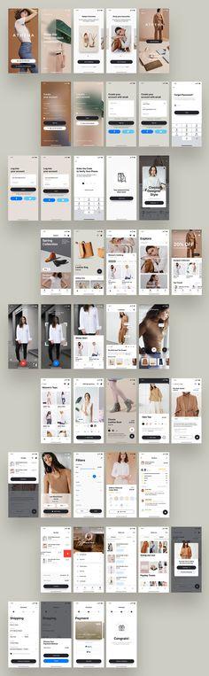 Android App Design, App Ui Design, Interface Design, Web Design, Ui Design Principles, App Design Inspiration, Design Ideas, Ecommerce App, Mobile Ui Design