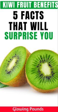 Kiwi Fruit Benefits, Kiwi Nutrition, Food Value, Flatter Stomach, Immune System Boosters, Types Of Fruit, Green Fruit, Fat Burning Foods, Healthy Fruits