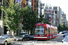 Portland Neighborhoods Guide: The Pearl District  Modern tram, trolley or bus?  What would you like to see downtown?