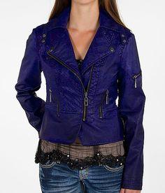 Cute Purple Leather Jacket!