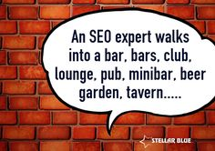 If you know anything about SEO, you will get a kick out of this....