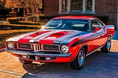 1972 Plymouth Barracuda | Classic cars | Classic Muscle car engine | Classic Muscle Mopar | Mopar Muscle car