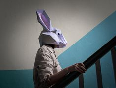Make your own Rabbit Mask Animal Head Instant от AwesomePatterns