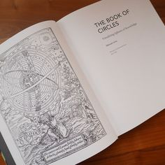 Title page of The Book of Circles with the Coelifer Atlas illustration (1559) on the left. #data #datavisualization #datavis #informationdesign #information #circle #book #structure #visual #design #art #artwork #infographic #infographics #chart #graph #diagram #graphic #illustration #graphicdesign #science #history #biology #astronomy #architecture #taxonomy #circles #books #bookofcircles #manuscript