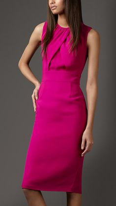 We are loving this Burberry Dress.  Pair it with a bold cuff for a great look.