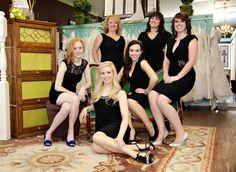 Alicia's Bridal Staff Photo: Toni Lynn Photography #groupposing #employeephoto #aliciasbridal @Toni Palmer Gundlach