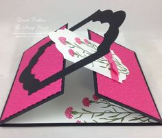 Wild about Flowers Bonus Card #2 interlocking front: