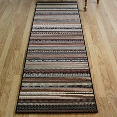 eye-catching multi-pattern rug design #hall #runners #rugs Hall Runner, Cheap Rugs, Rug Size, Runners, Eye, Pattern, Design, Home Decor, Hallways