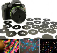Camera lense covers
